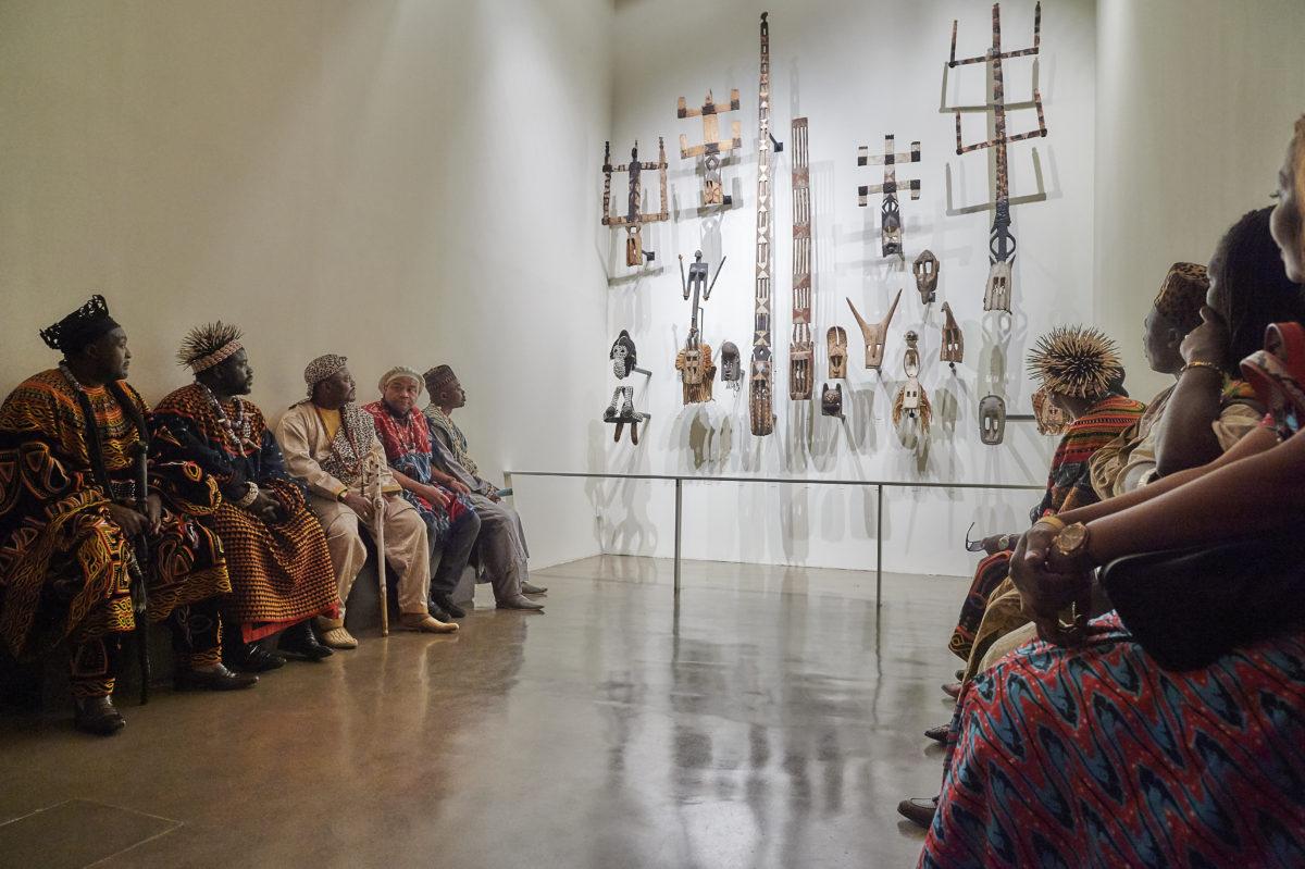 Rencontre avec les autorités traditionnelles d'Afrique