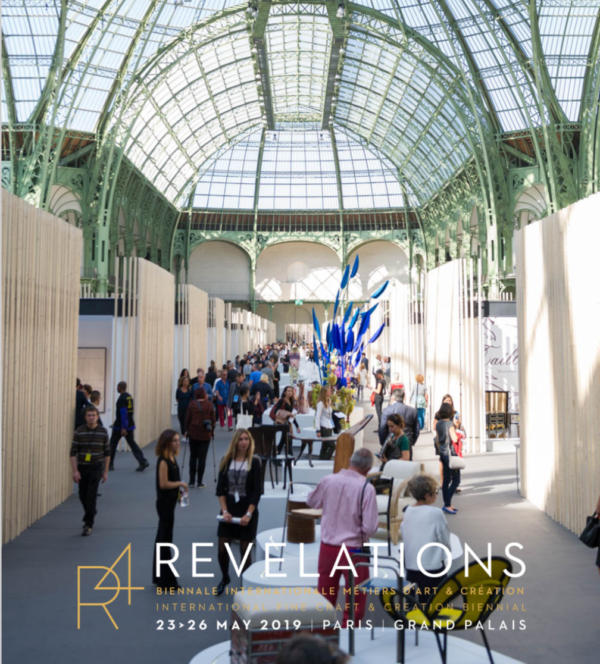 Exposition au salon 'Révélations', Grand Palais, Paris.
