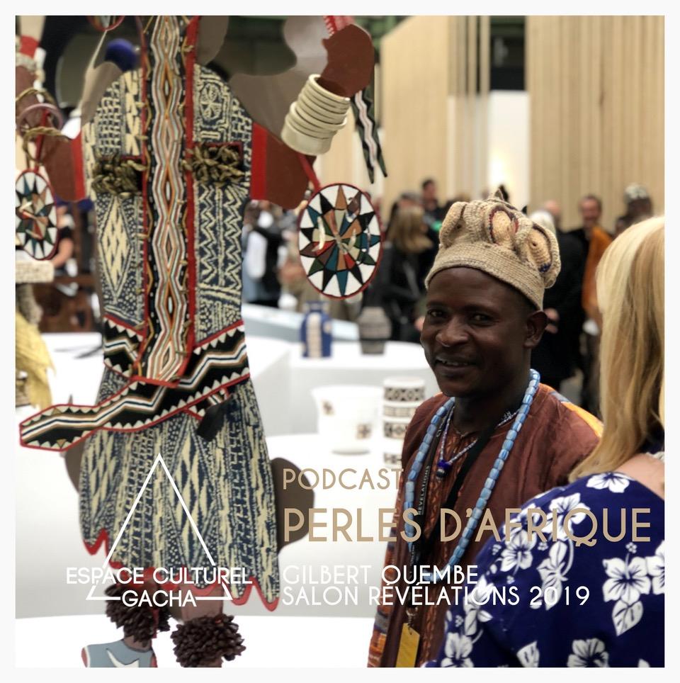 Podcast Perles d'Afrique : le voyage de Gilbert Ouembe, ferronnier d'art