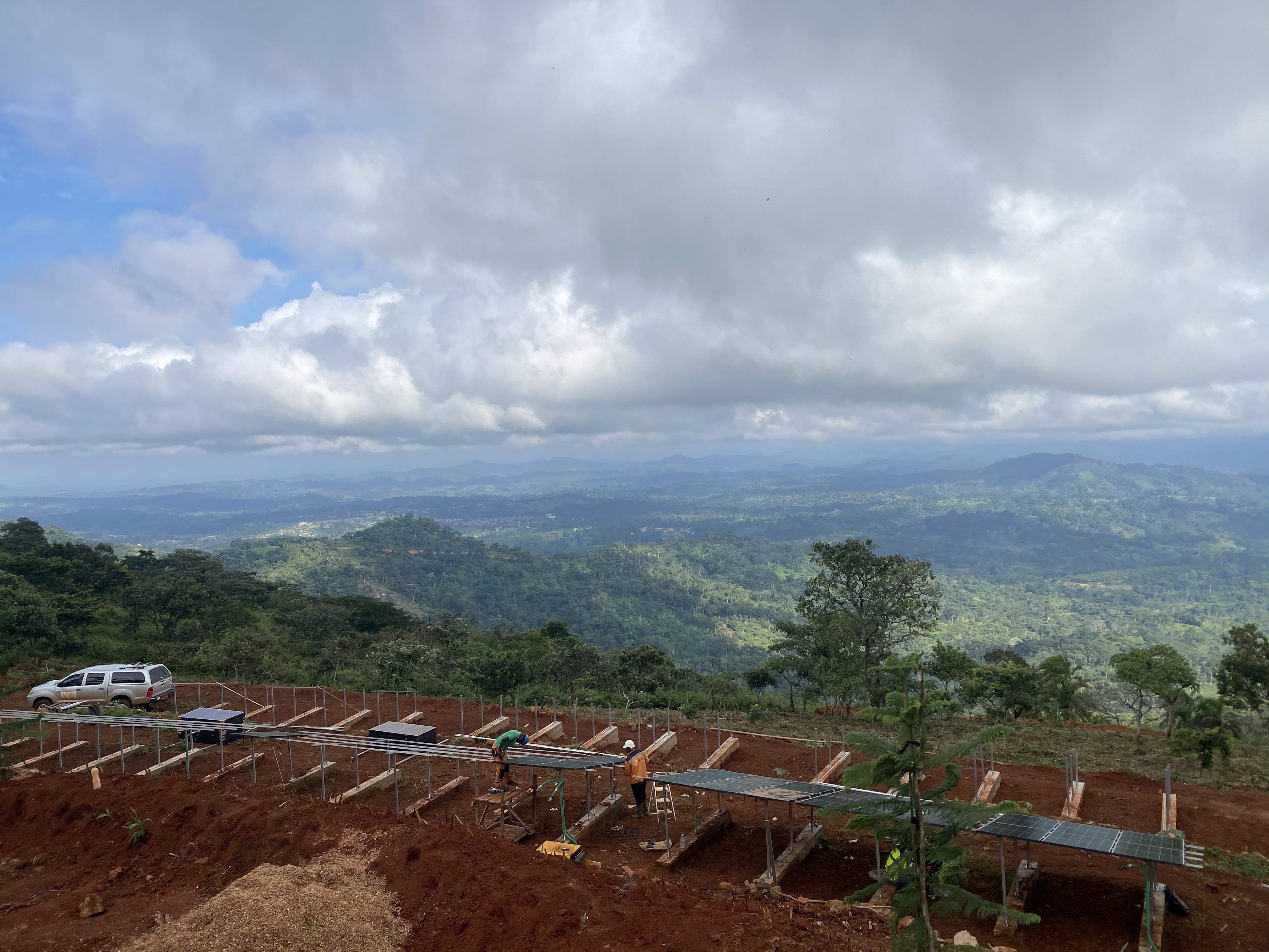 Projet solaire et batteries écologiques