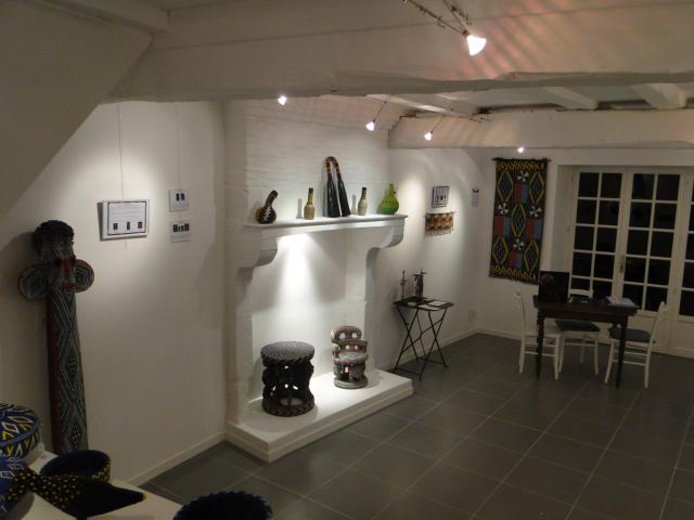 Exposition à la galerie Kron à Rancon