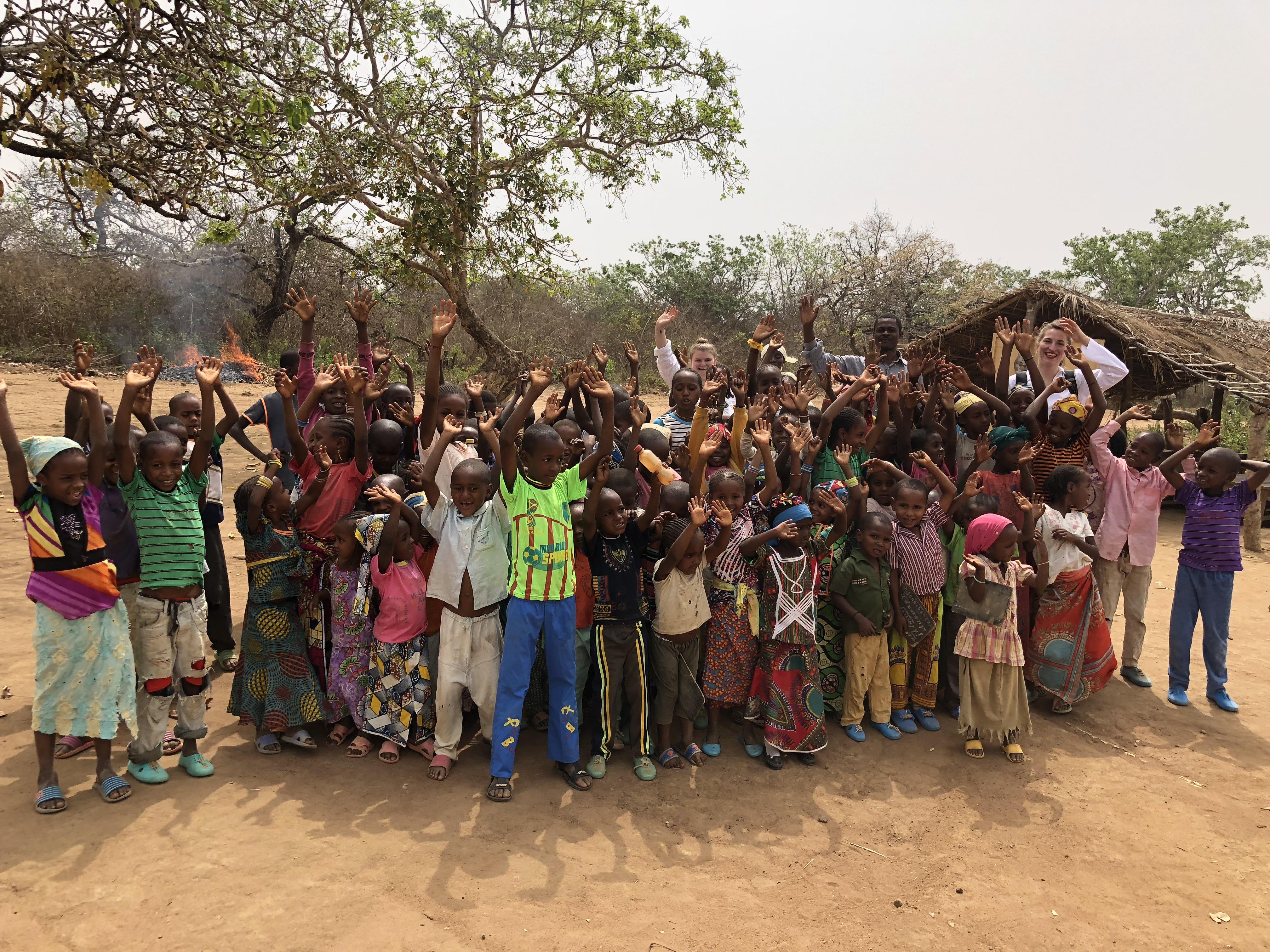 L'Espace Gacha soutient : la construction de l'Ecole Maternelle de Manoré