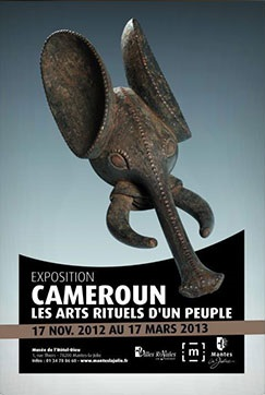The Gacha Foundation contributes to the exhibition : Cameroon, the ritual arts of a people/March 13