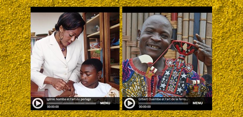 Perles d'Afrique #1 et #2 – Les arts du perlage et de la ferronnerie