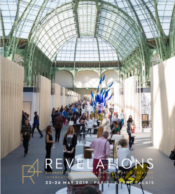 Exposition au salon 'Révélations', Grand Palais, Paris.