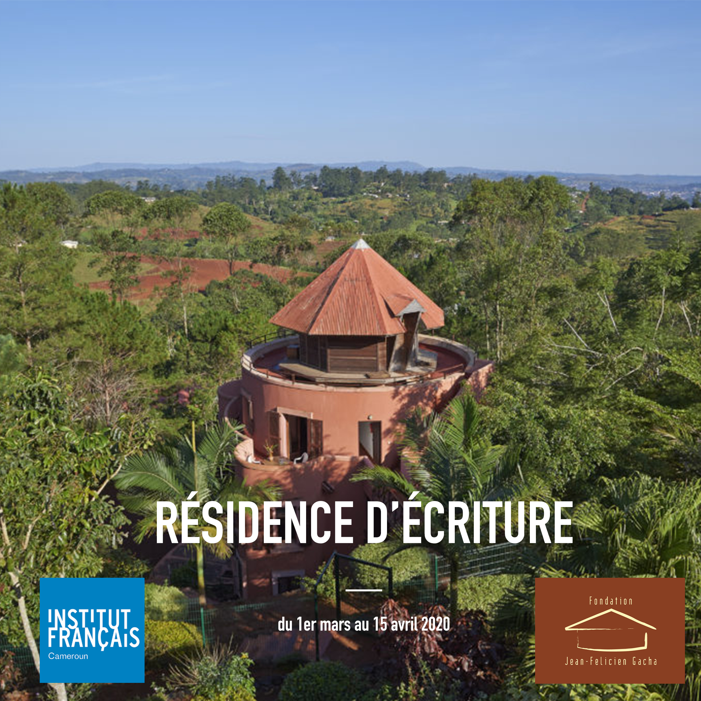 WRITING RESIDENCE  - CALL FOR CANDIDATURES FROM 15 JULY TO 10 OCTOBER 2019