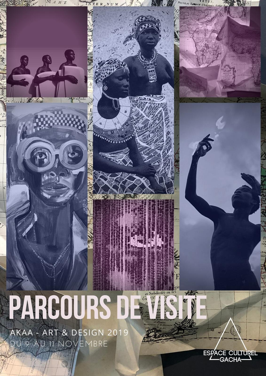 Parcours de visite Akaa – Also Known As Africa 2019