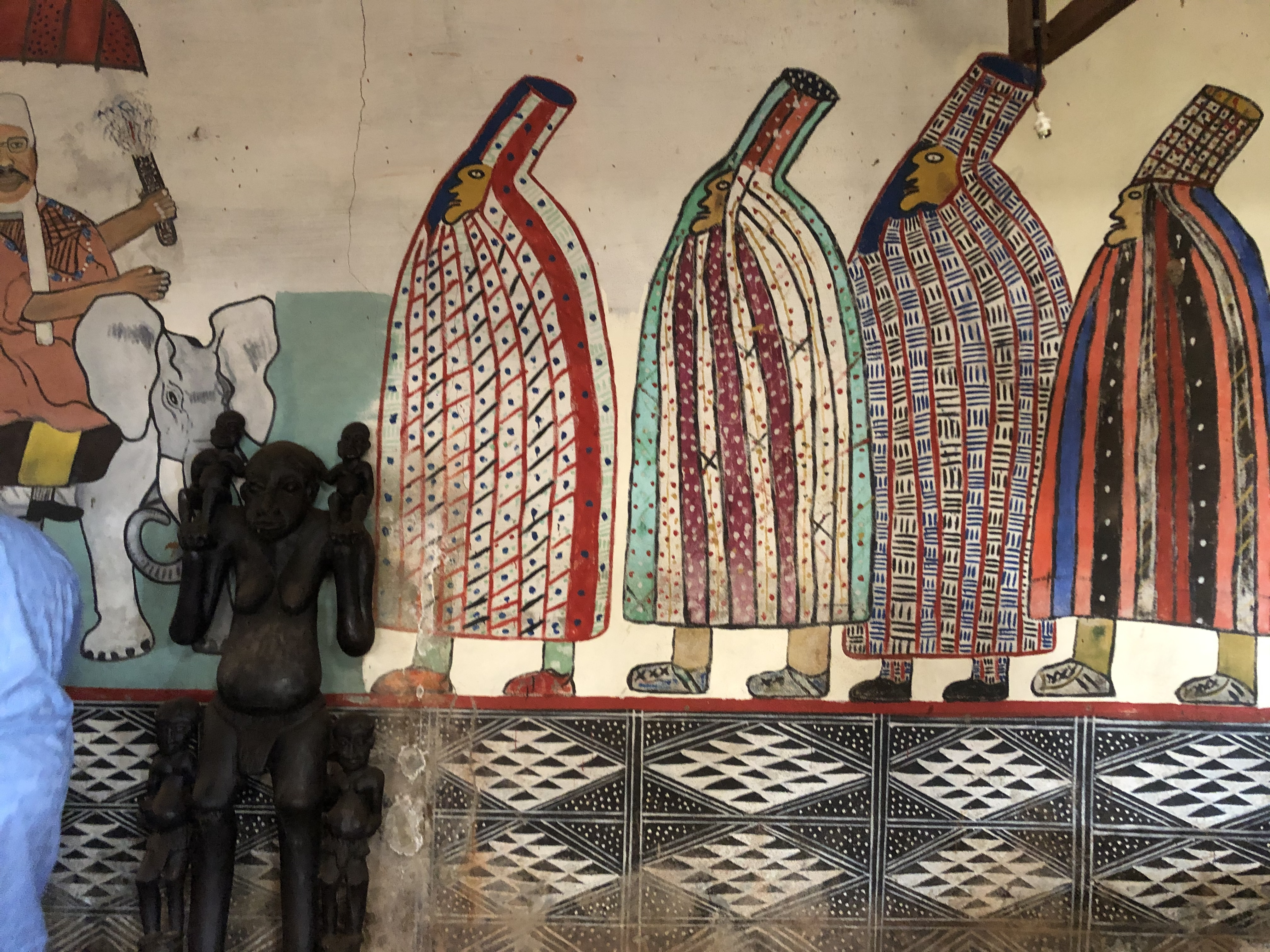 Peintures murales du royaume de Bangoulap : de l'oralité à la visualité