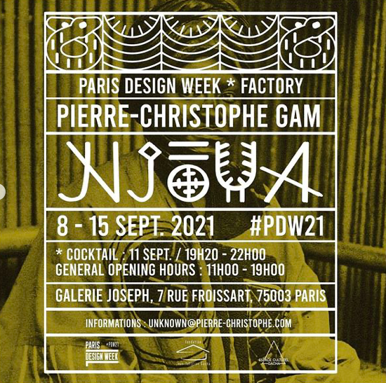 Le designer Pierre-Christophe Gam X Fondation Gacha